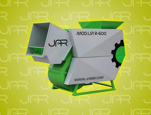 Nueva imagen de nuestra limpiadora LIP/R-600
