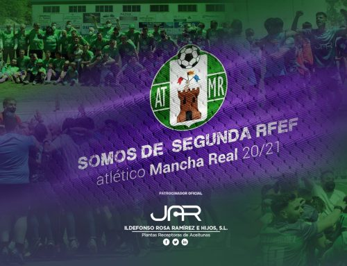 Enhorabuena  al Atlético Mancha Real por el ascenso a 2RFEF