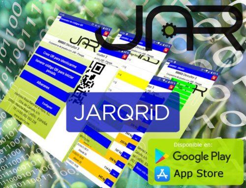 Nueva APP JARQRiD